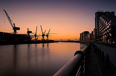Hafen von Glasgow