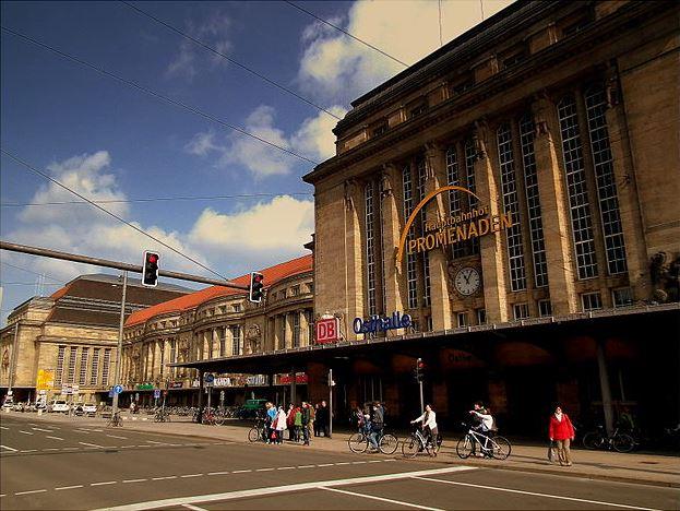 Der Leipziger Hauptbahnhof