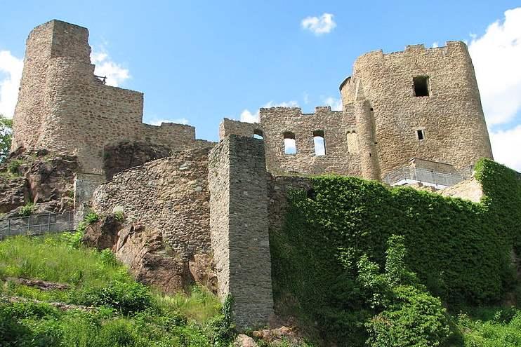 Ruine der Burg Frauenstein
