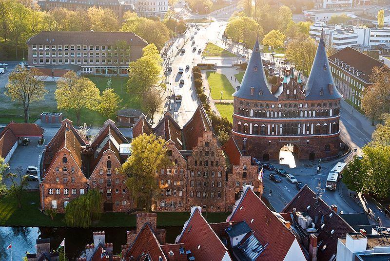Lübeck war die erste deutsche Hafenstadt an der Ostsee