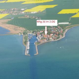 FEWO 26 Hafen Orth auf Fehmarn mit Meerblick - Orth