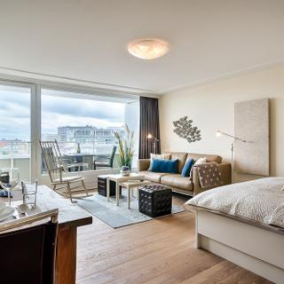 "Penthouse-Suite ""Skyline"" mit Panorama-Meerblick - Westerland"
