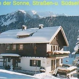 Ferienwohnungen HAUS IN DER SONNE - Hirschegg