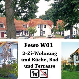 Ferienpark Gustow, 2-Zi-Fewo W01 - Gustow