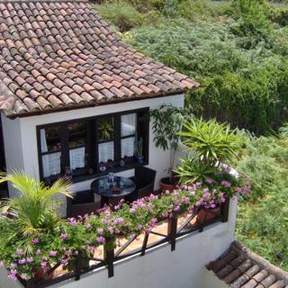Apartamentos Monasterio de San Antonio - Rustikals Apartment mit Balkon und Meerblick - Icod de los Vinos