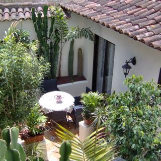 Apartamentos Monasterio de San Antonio - Rustikales Apartment mit kleiner Terrasse im Innenhof - Icod de los Vinos