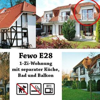 Ferienpark Gustow, 1-Zi-Fewo E28 - Gustow