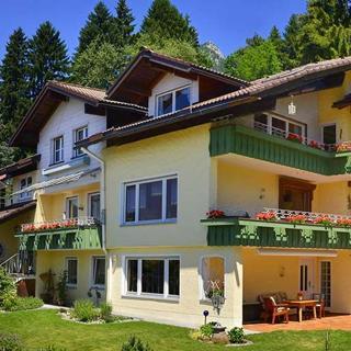 Ferienwohnung Obergeschoss - Burgberg