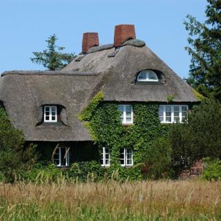 Haus Sommerwind, Kleines Apartment mit Terrasse - Nieblum