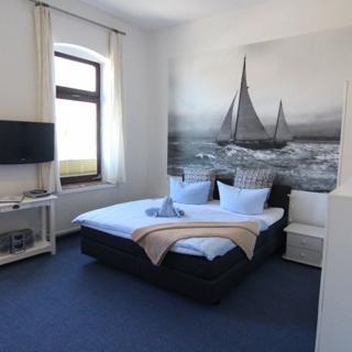 Kapitänshaus Lassen - Zimmer Neptun - Westerland