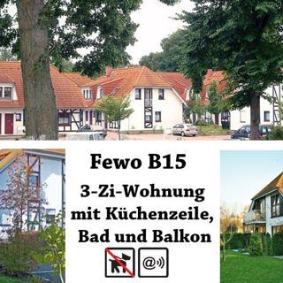 Ferienpark Gustow, 3-Zi-Fewo B15 - Gustow