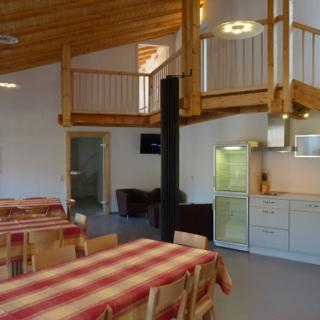 Große Eifel Ferienwohnung Gäste Lounge für zwei bis zehn Personen - Zweifelscheid