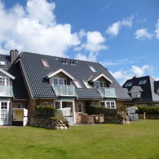 Haus Rosengrund Wohnung 3  oben mitte - Westerland