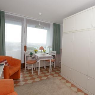 Klein aber fein - Haus am Meer, 7 Etage, 1 Zimmer mit Balkon und Blick über die Insel - Westerland