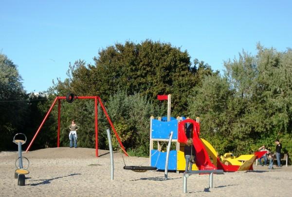 Kinderspielplatz auf Rügen