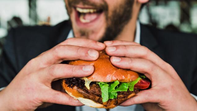 Burger essen auf Sylt
