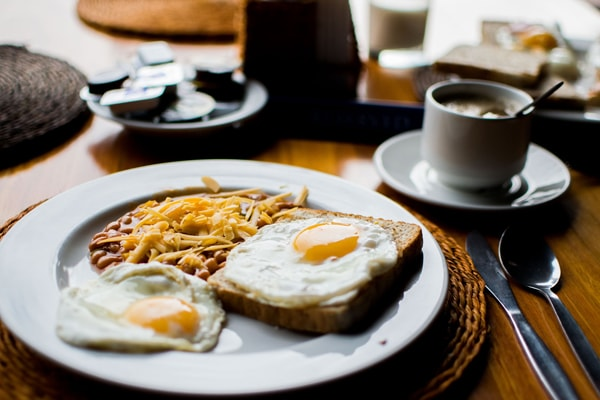 Frühstück auf Fehmarn