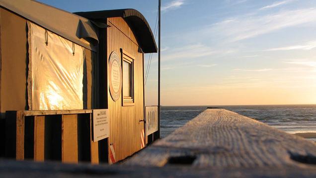 Strandsauna Rantum Außenansicht