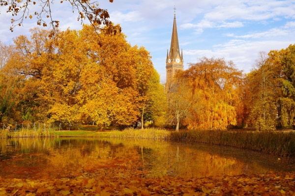 Clara-Zetkin-Park Leipzig