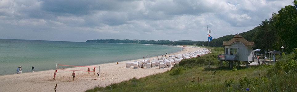 Strand Baabe auf Rügen