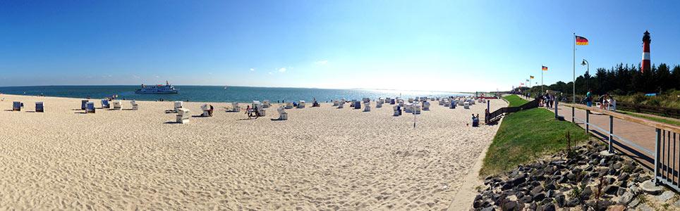 Strand Hörnum auf Sylt