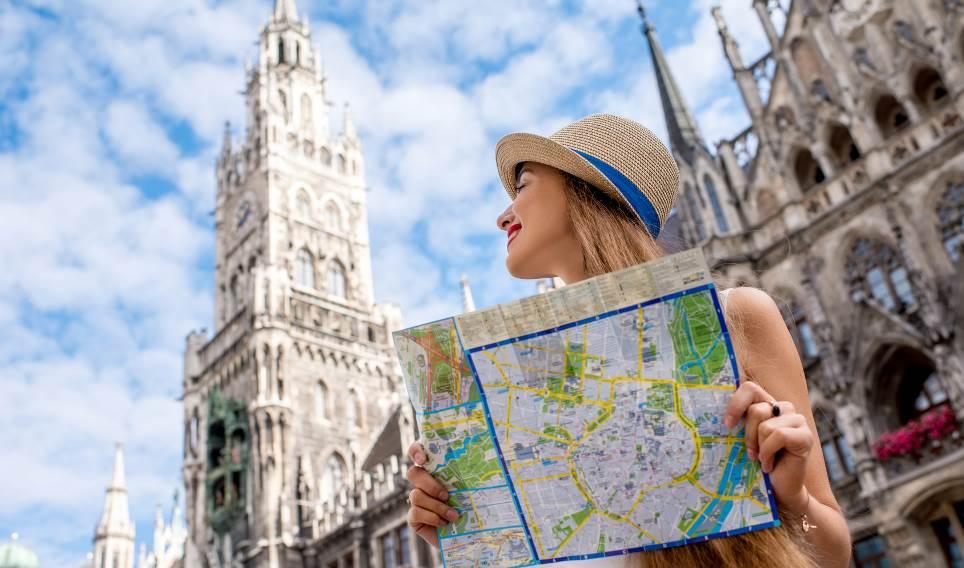 Reisende in München
