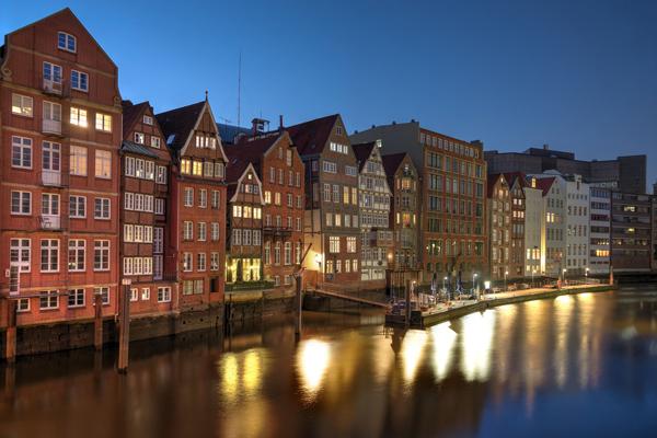 Hamburgs Altstadt