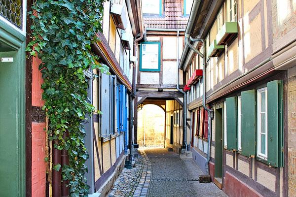 Fachwerkhäusern in Wernigerode