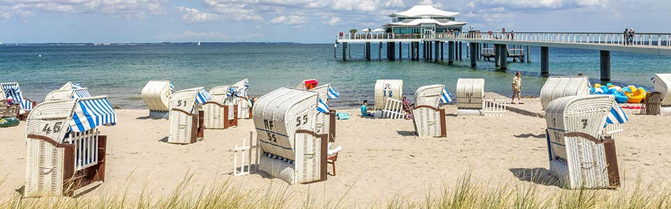 Strand in Timmendorfer Strand