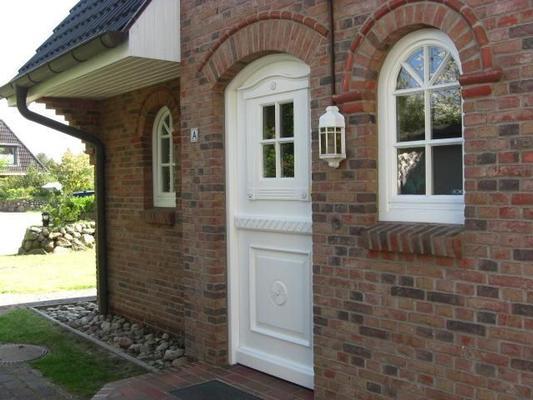 Landhaus Eingang landhaus heidegrund wohnung 1000465 ferienwohnung wenningstedt