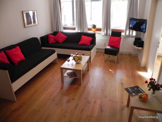 3 zimmer apartment kampnagel mit w lan 1010351 ferienwohnung hamburg. Black Bedroom Furniture Sets. Home Design Ideas