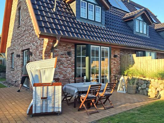 haus beck 1001814 ferienhaus h rnum. Black Bedroom Furniture Sets. Home Design Ideas
