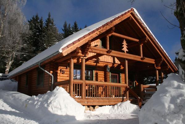 Exklusives Harz-Blockhaus mit Sauna u. Kamin - Schierke