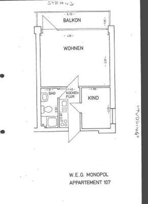 Fewo 05 Abendhimmel Im Haus Monopol 1006482 Ferienwohnung Wangerooge