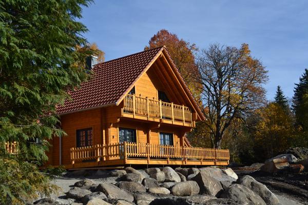 LUXUS Ferienhaus Am Bach mit großer Sauna, Kamin und Außen-Whirlpool - Schierke