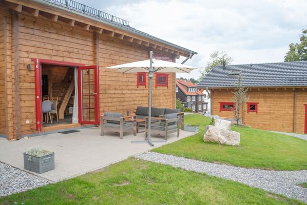 Blockhaus an der Skiwiese Braunlage - Haus Philip - Braunlage