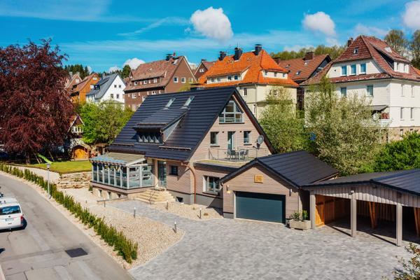 Ferienhaus Wurmberger mit Whirlpool und Sauna - Braunlage