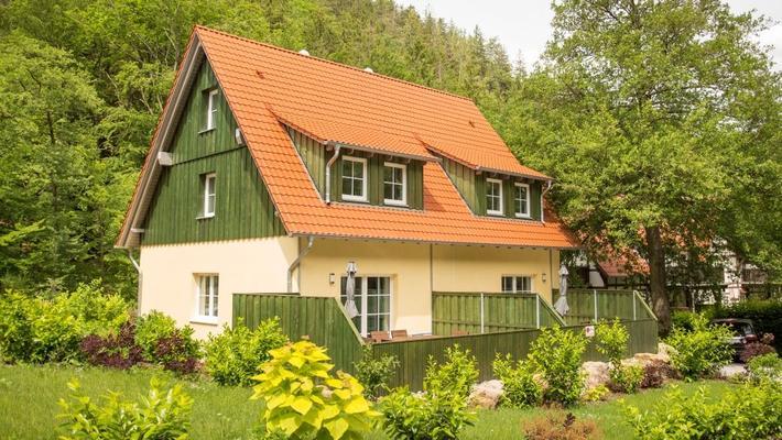 Ferienhäuser Ilsestein - Doppelhaushälfte - Ilsenburg