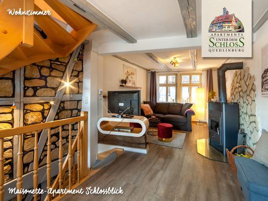 Apartments Unter dem Schloss Quedlinburg - Ap. Schlossblick - Quedlinburg