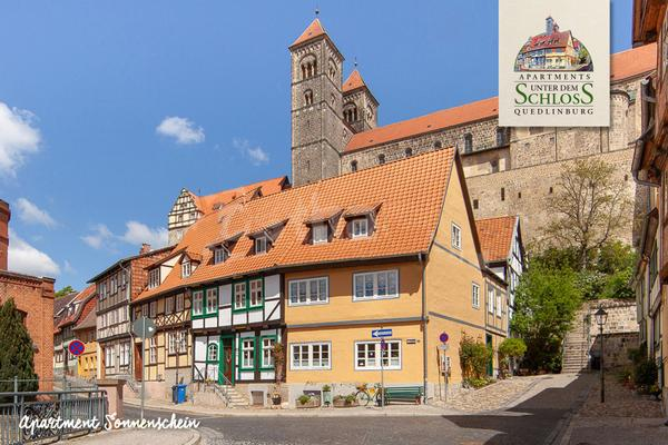 Apartments Unter dem Schloss Quedlinburg - Ap. Sonnenschein - Quedlinburg