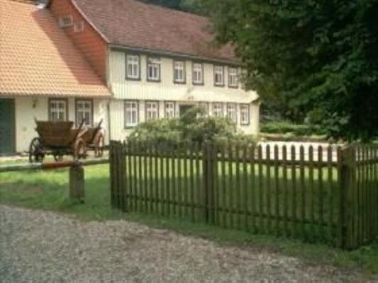 Altes Forsthaus Kupferhütte, kl.Wohnung - Bad Lauterberg