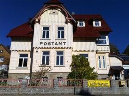 Postamt, Wohnung Paketannahme - Schierke