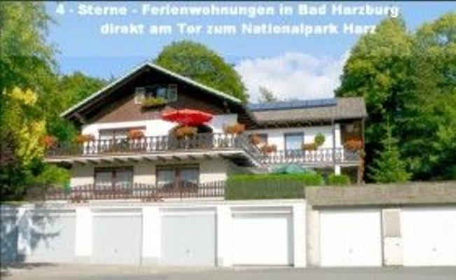 4-Sterne-Ferienwohnung 2 m. PKW-Garage am Nationalpark Harz - Bad Harzburg