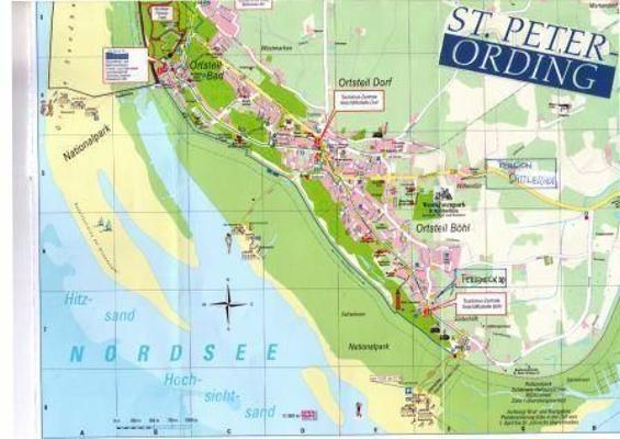 Sankt Peter Ording Karte.Ferienwohnung Sattlerhof Lee 32168 Ferienwohnung St