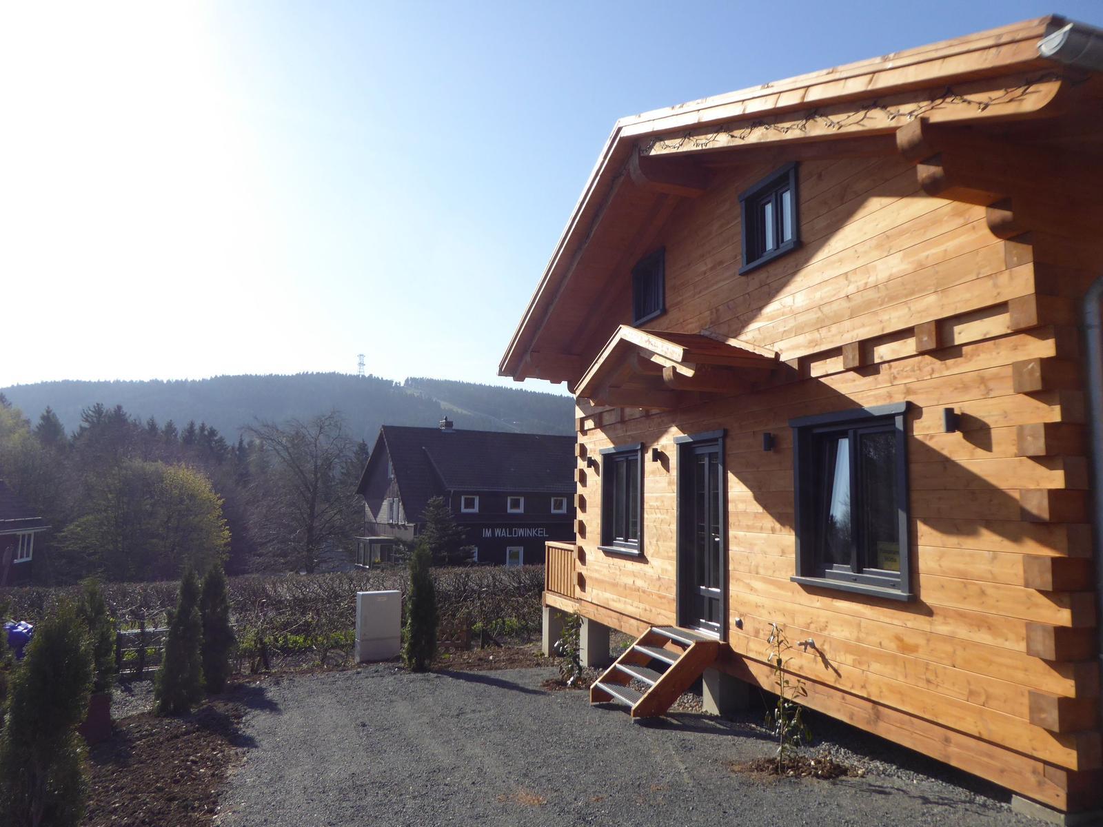 Harz Ferienhaus Panorama Hütte anno 2018 Haus 1