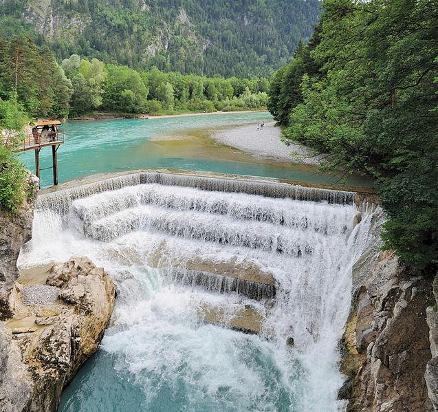 Lechfall in Füssen