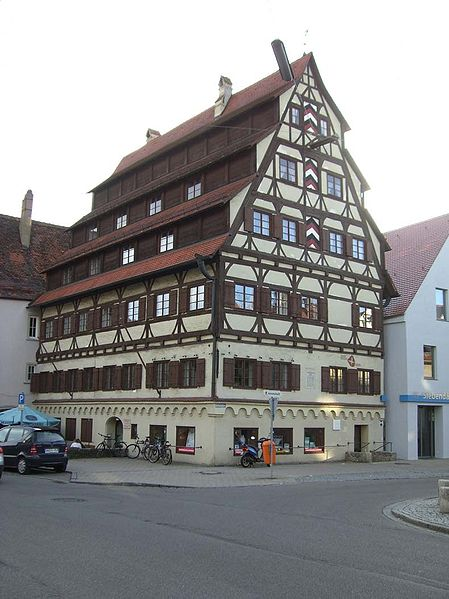 Siebendächerhaus in Memmingen