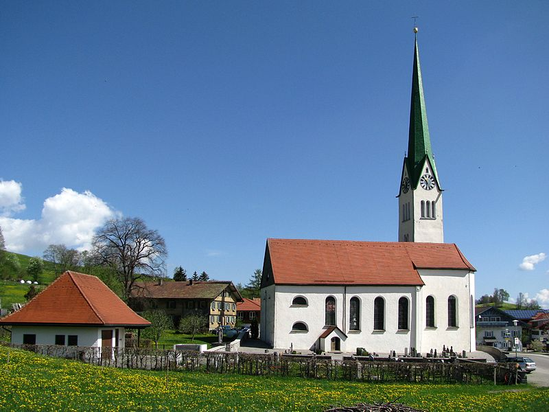 Pfarrkirche St. Blasius in Rettenberg