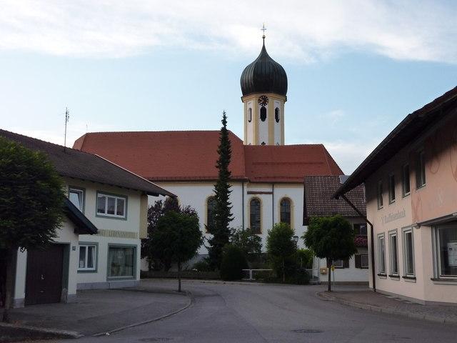 Kirche in Roßhaupten