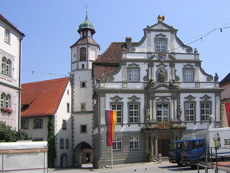 Rathaus in Wangen im Allgäu